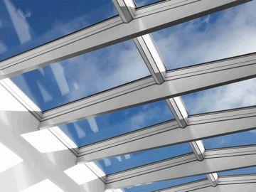 Oberlichter Flachdach modulares oberlichtsystem velux