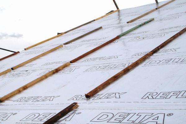 aufsparrend mmung f r steildach schritt f r schritt. Black Bedroom Furniture Sets. Home Design Ideas